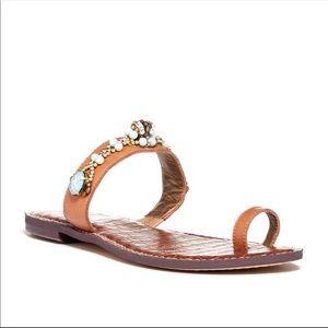 🎉 Sam Edelman Gillie Embellished Sandals